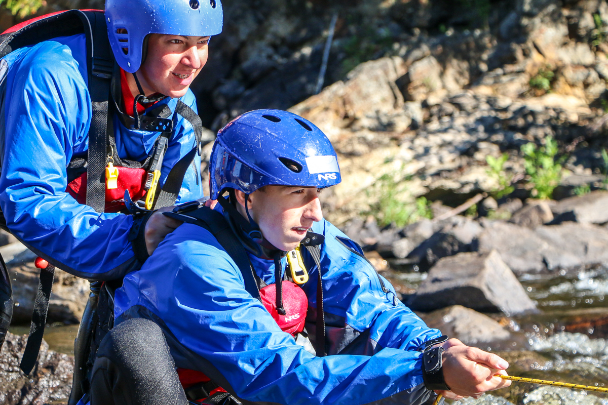 experiential education whitewater program