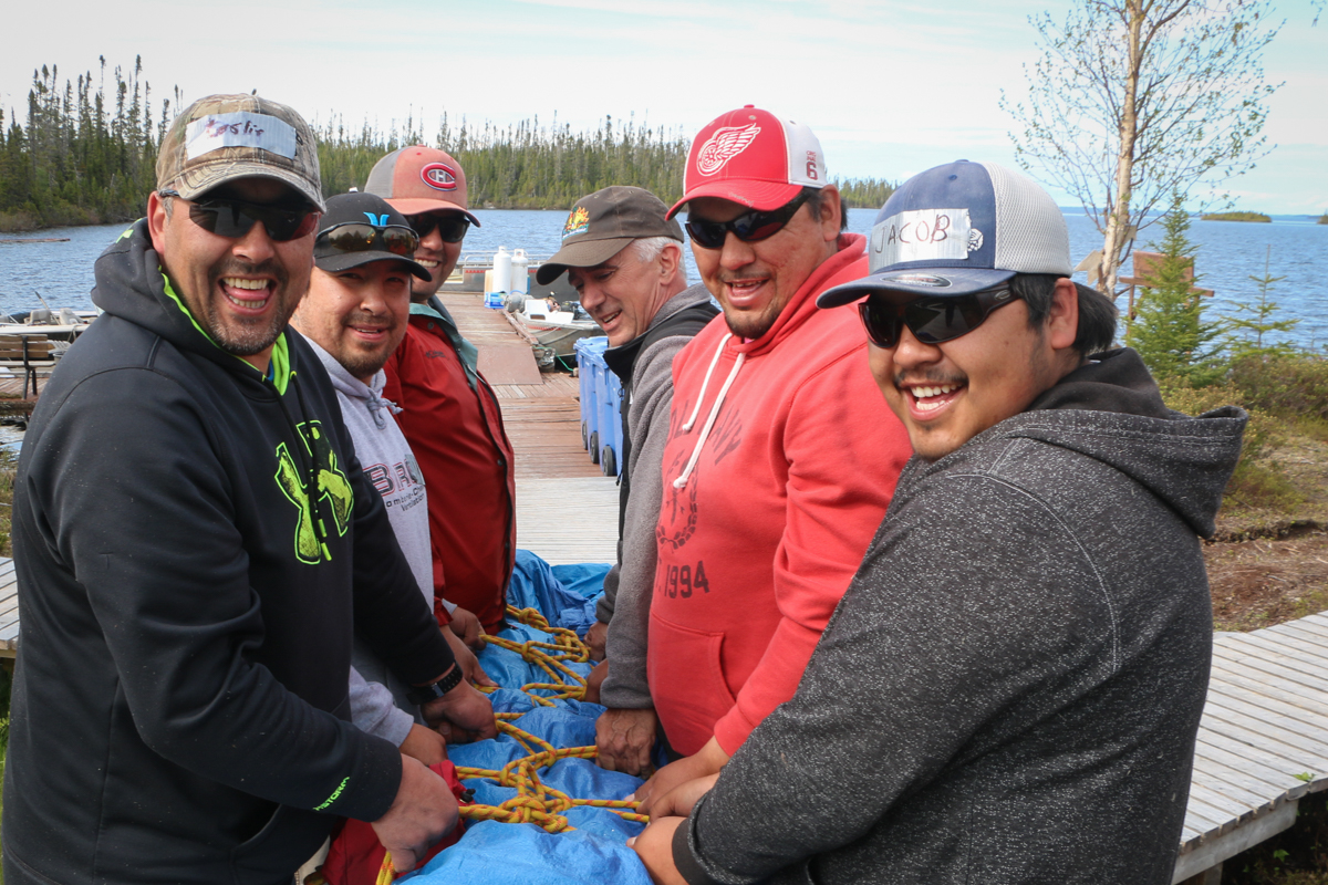 Osprey Lodge Fishing Guides Train With Boreal River