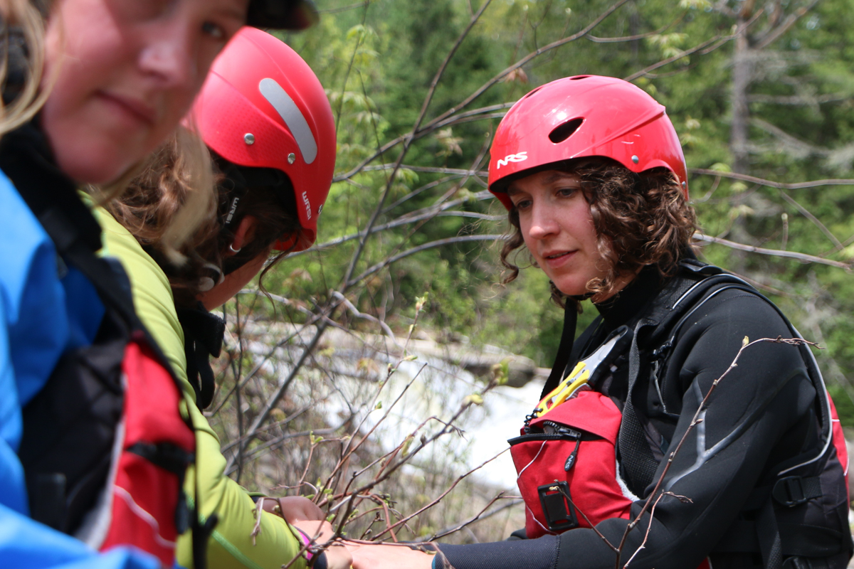 Whitewater Rescue Student Interviews