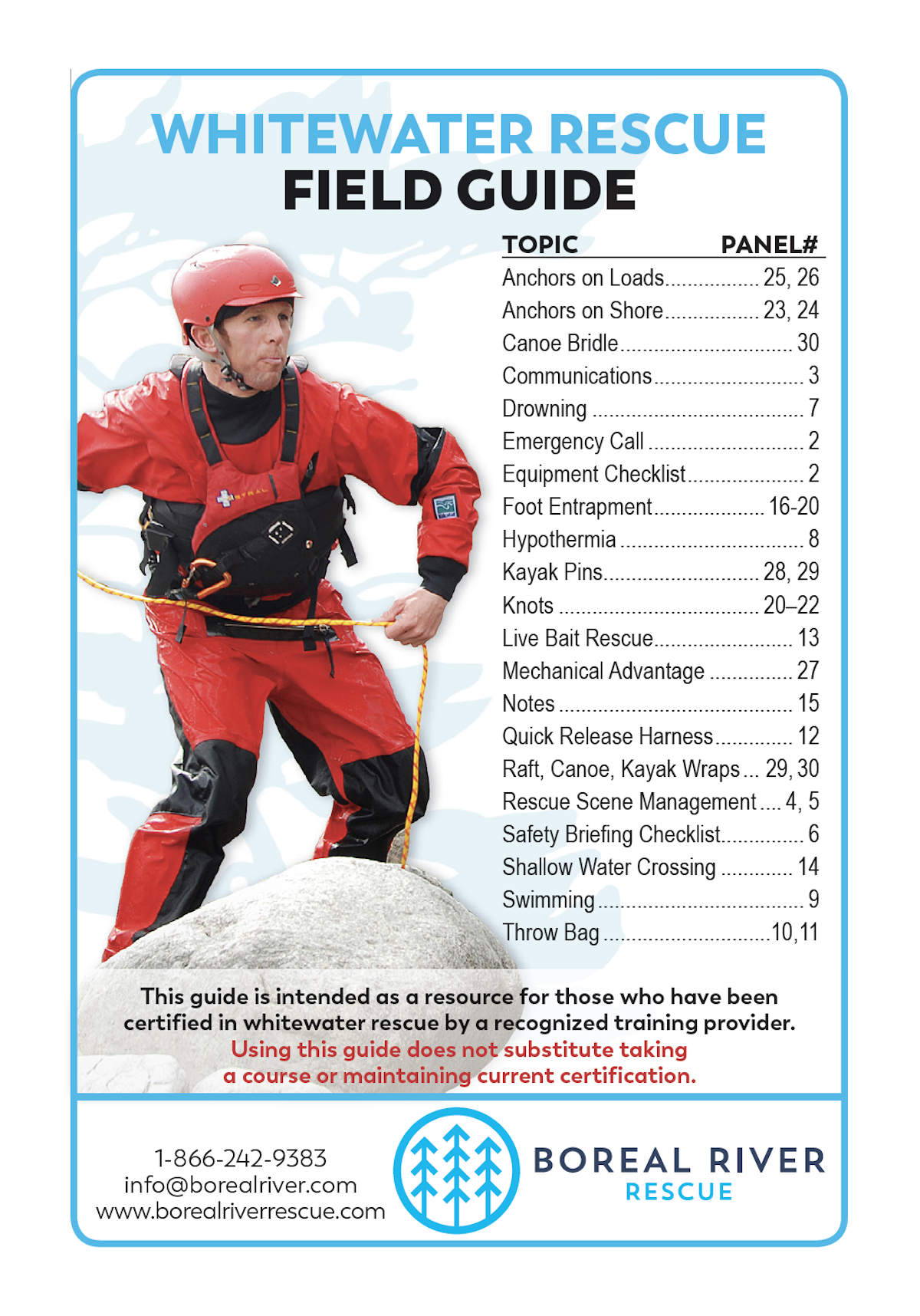 Whitewater and Swiftwater Rescue Field Guide