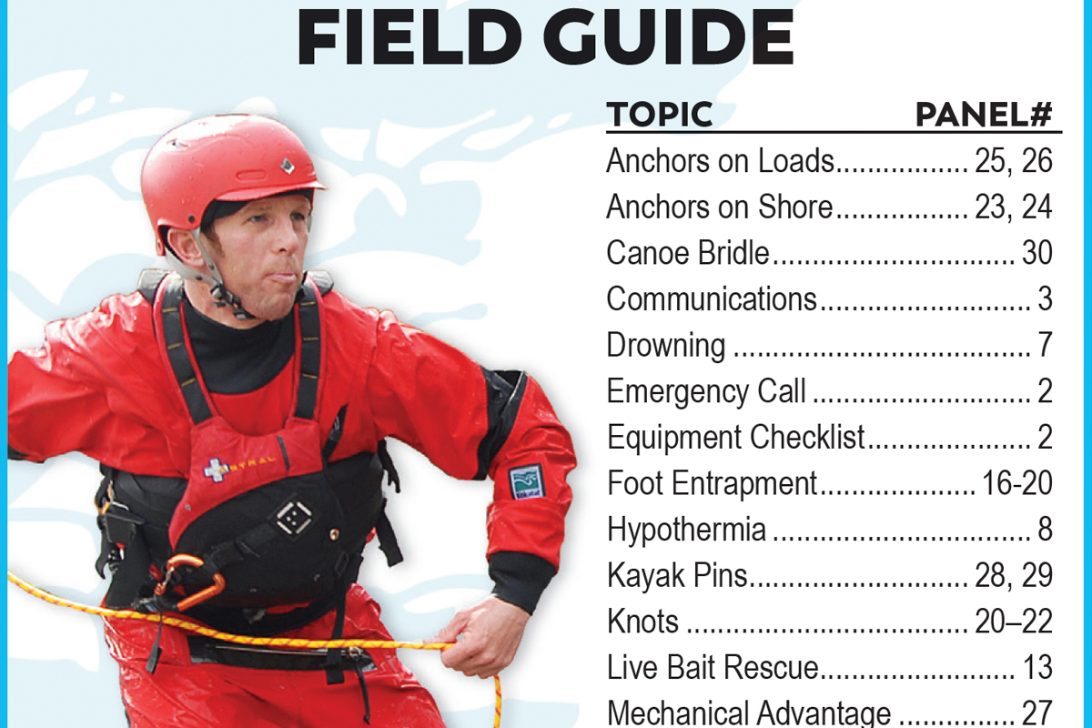 Whitewater Rescue Field Guide—Waterproof—Order Online
