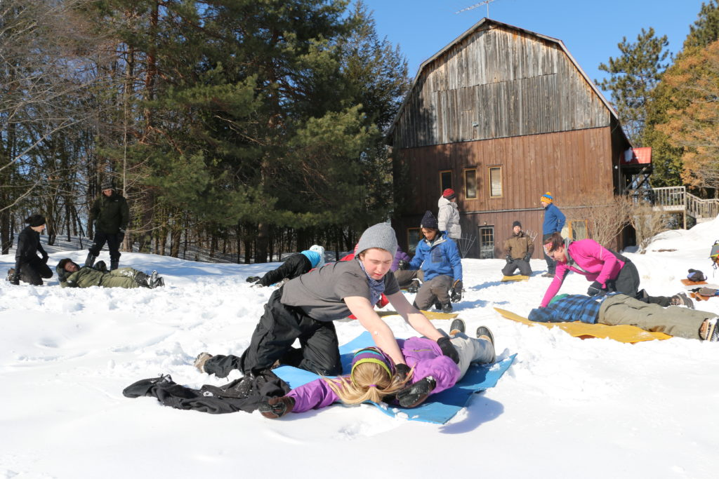 Wilderness First aid course with WMA