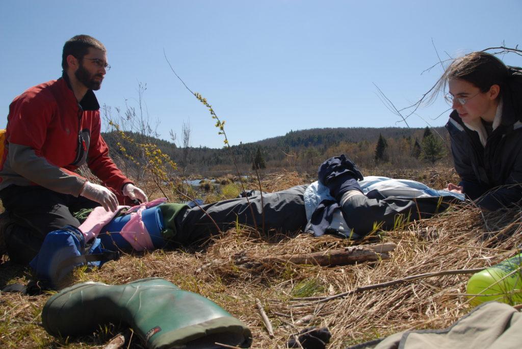 wilderness medical scenario