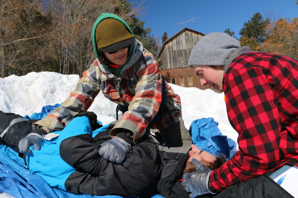 wilderness first aid (WFA) certification course