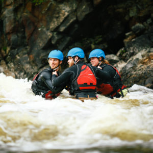 Whitewater rescue technician training and certification course