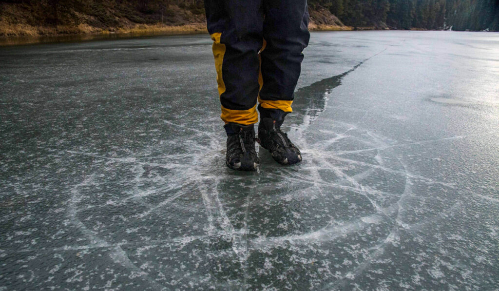 Weak ice assessment, rescue, and mitigation