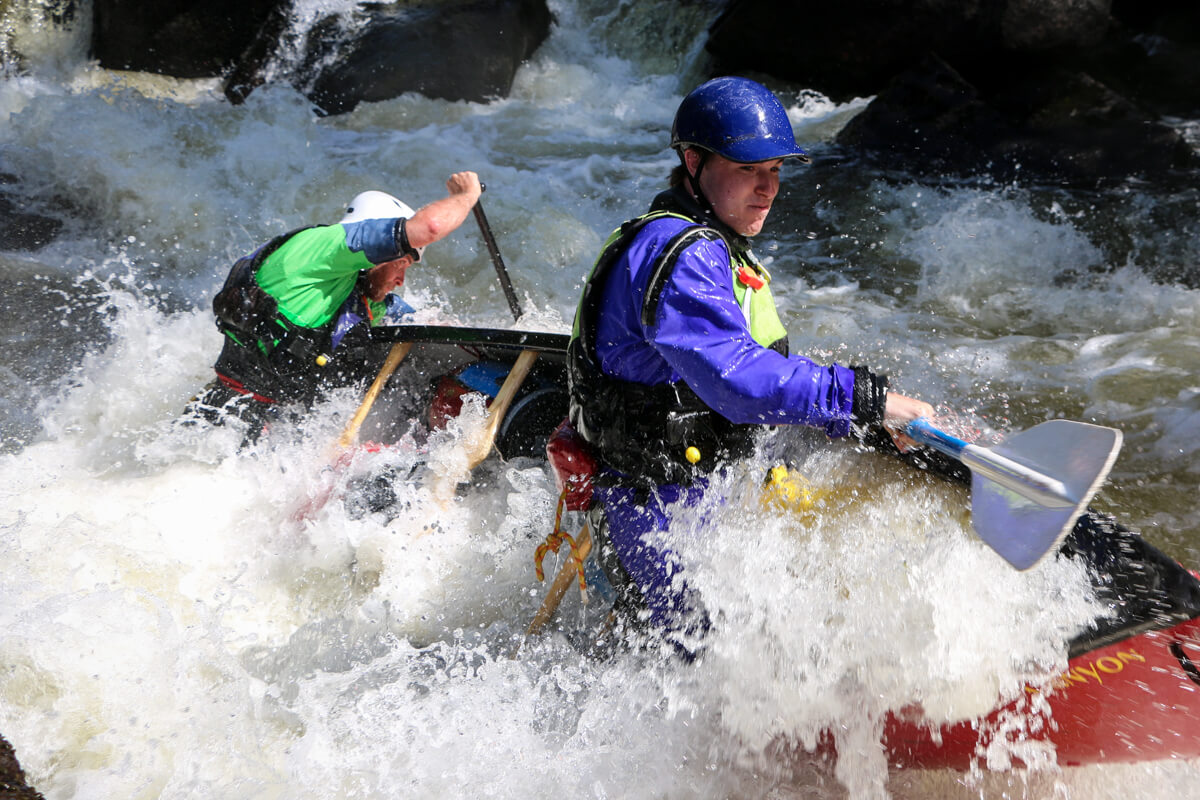 How To Rescue Canoes on Northern (Continuous Current) Rivers